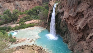 Havasu Falls: 2 miles from village and .15 miles ft from campground